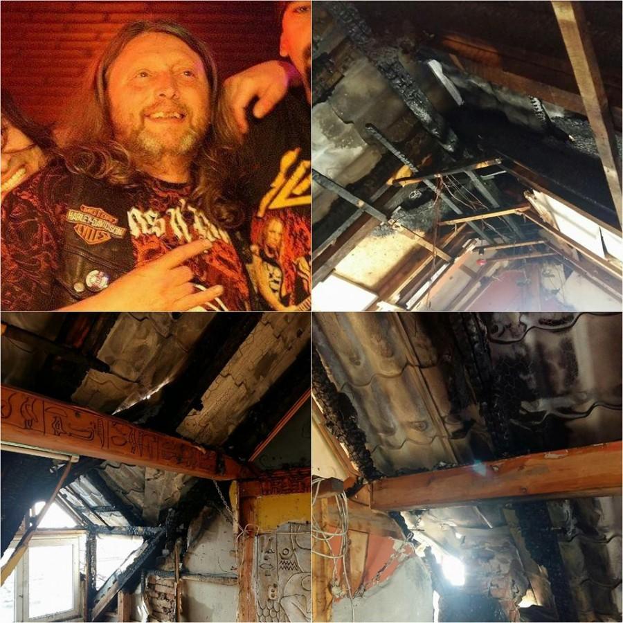 Sibienii se mobilizează să reconstruiască o casă distrusă de foc