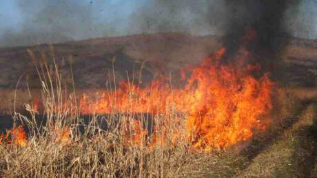 Primarii din județul Sibiu, sfătuiți să se pregătească de posibile incendii provocate de caniculă