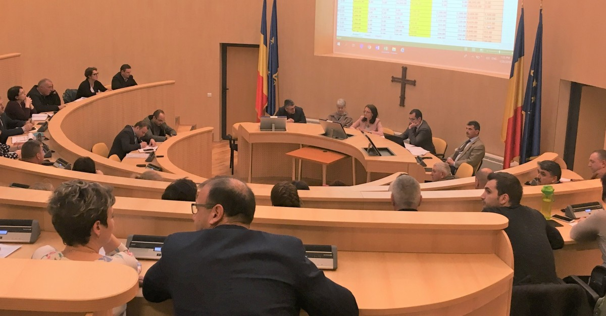 Președinta județului s-a întâlnit cu primarii pentru împărțirea banilor: nu prea sunt fonduri