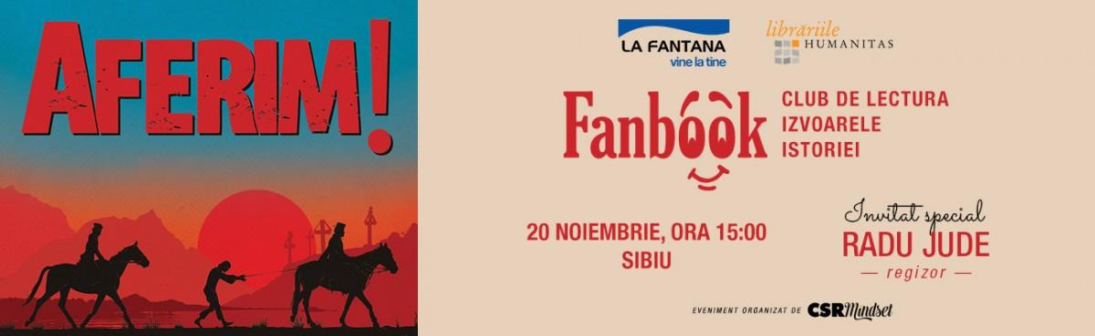 Radu Jude, primul invitat al clubului de lectură Fanbook de la Sibiu
