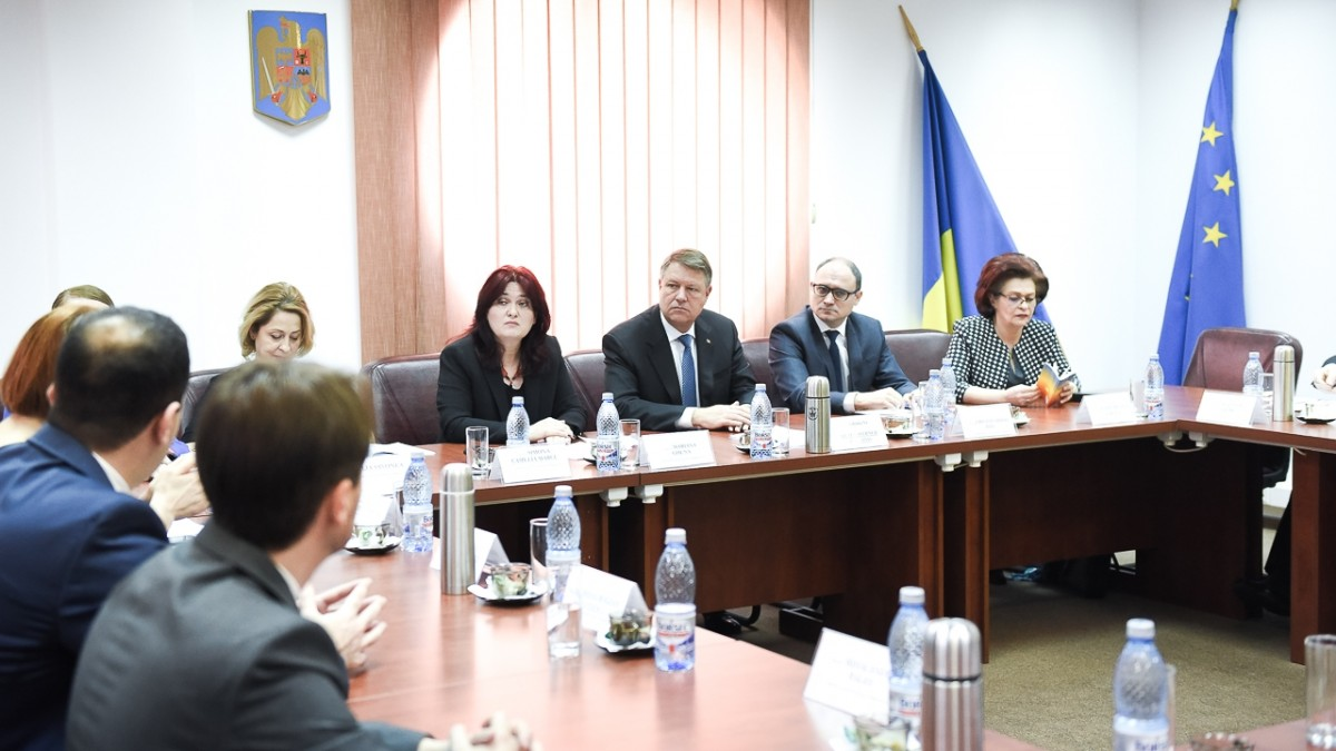 Iohannis după ședința CSM: