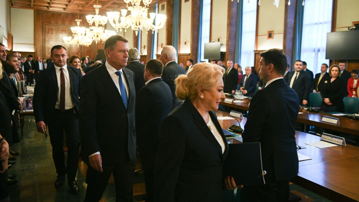 """Iohannis spune că PSD are o """"filosofie toxică"""". Răspunsul: """"Are probleme foarte grave"""""""