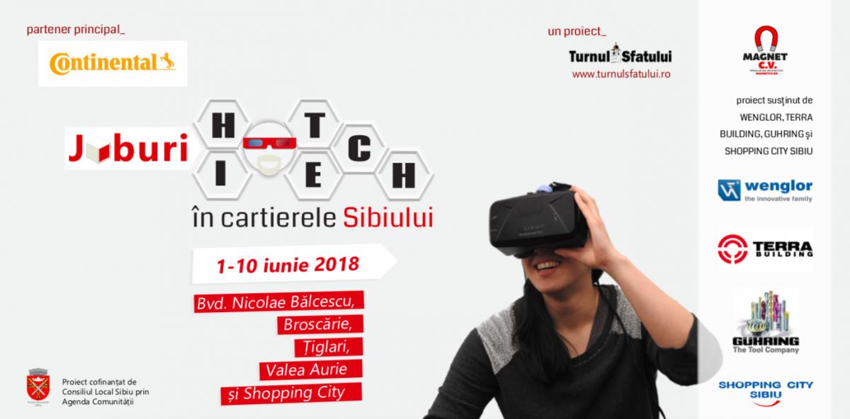 Premieră în Sibiu: Experimentează cum e să lucrezi la cele mai mari companii din oraș