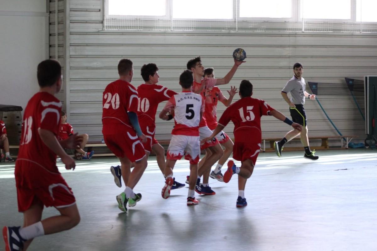 Juniorii HC Sibiu, pe locul 3 în campionat după victoria cu Sighișoara