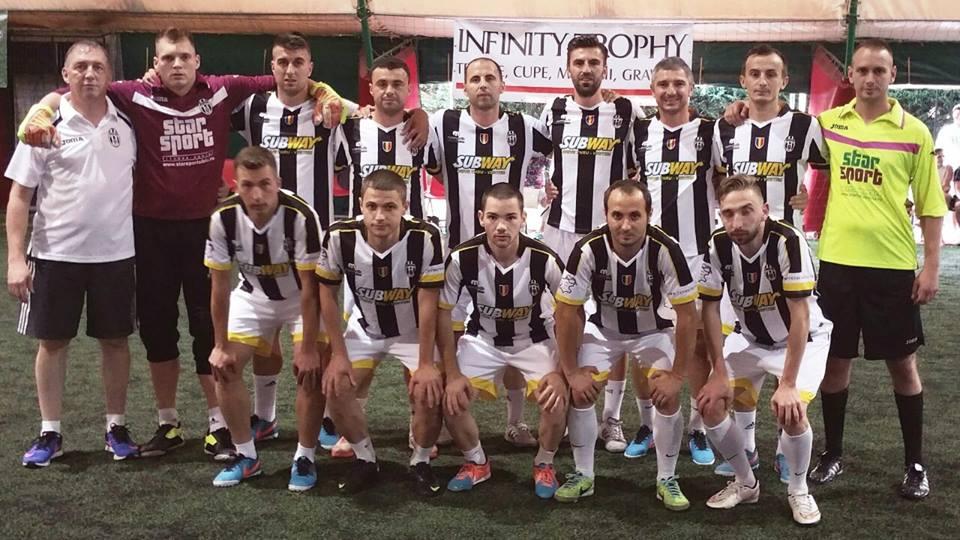 Echipa de minifotbal Juventus Sibiu şi-a aflat adversarele din grupele Champions League