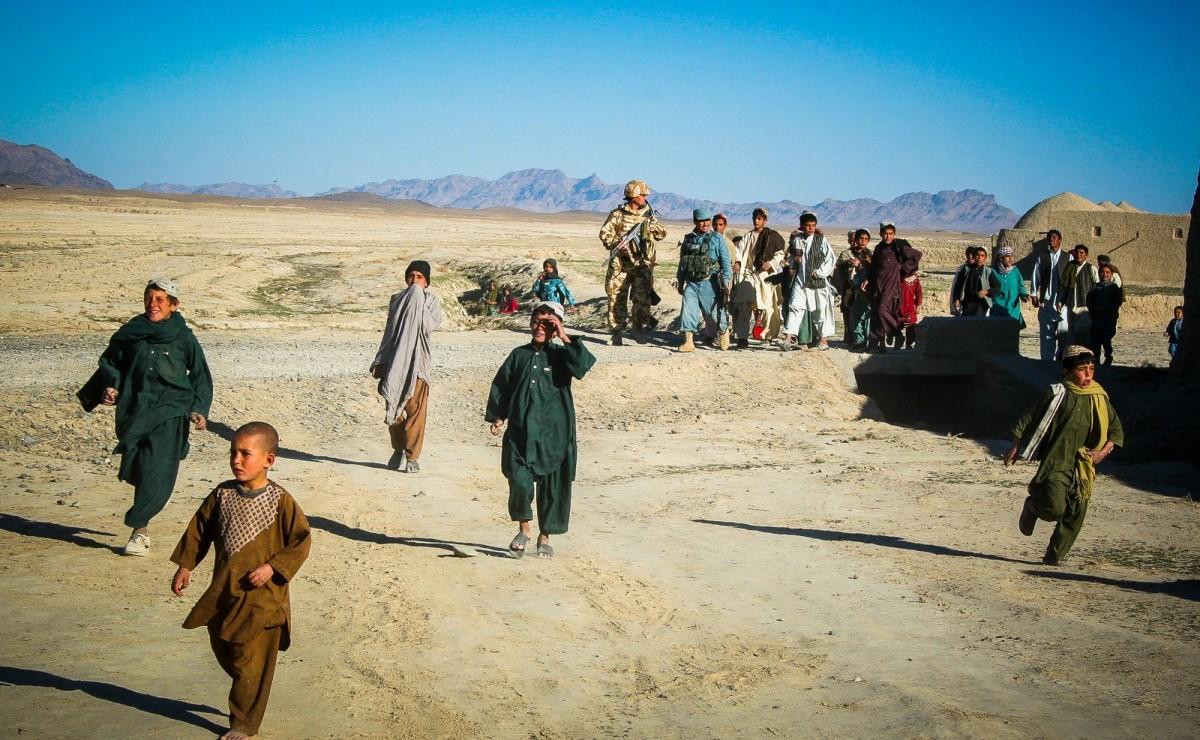 Galerie foto. Prima săptămână în Afganistan