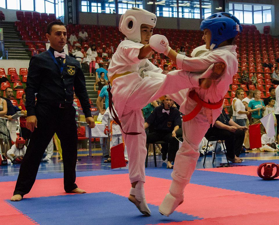Sibiu găzduiește astăzi Campionatul European de Karate