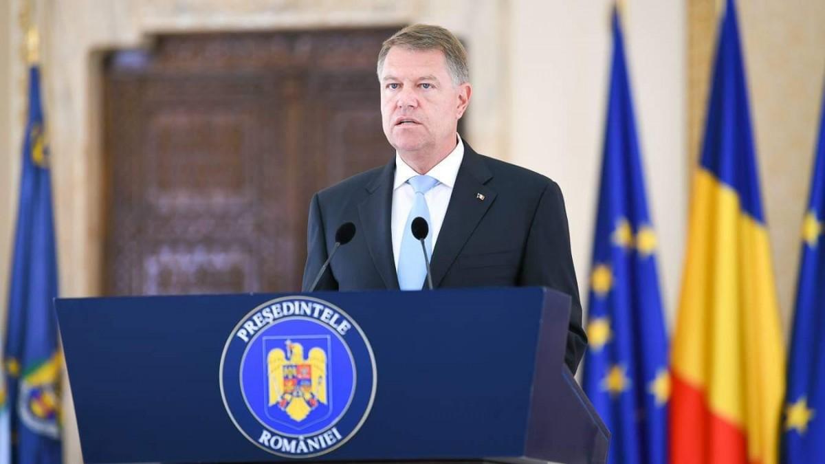 Președintele Klaus Iohannis: Românii vor stat de drept, o justiție dreaptă, vor consolidarea și continuarea luptei împotriva corupției