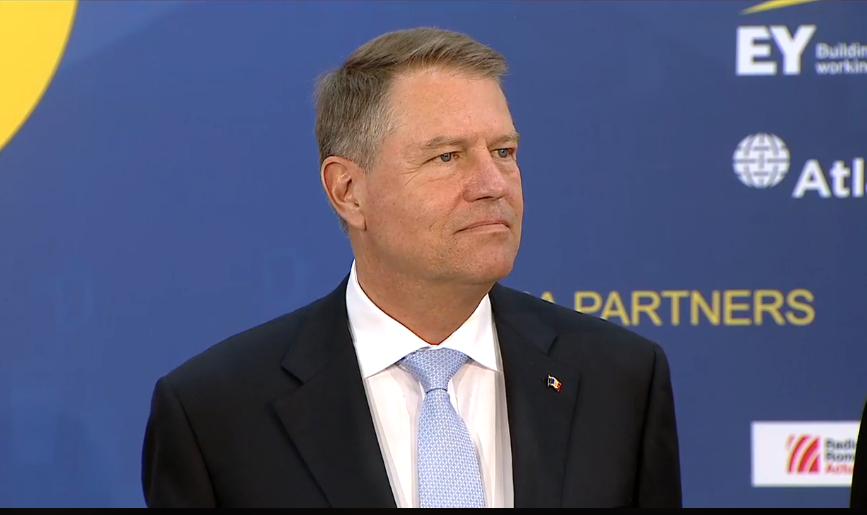 """VIDEO Klaus Iohannis, mesaj laULBS: """"Mâine Europa se va desena de aici, de la Sibiu"""""""
