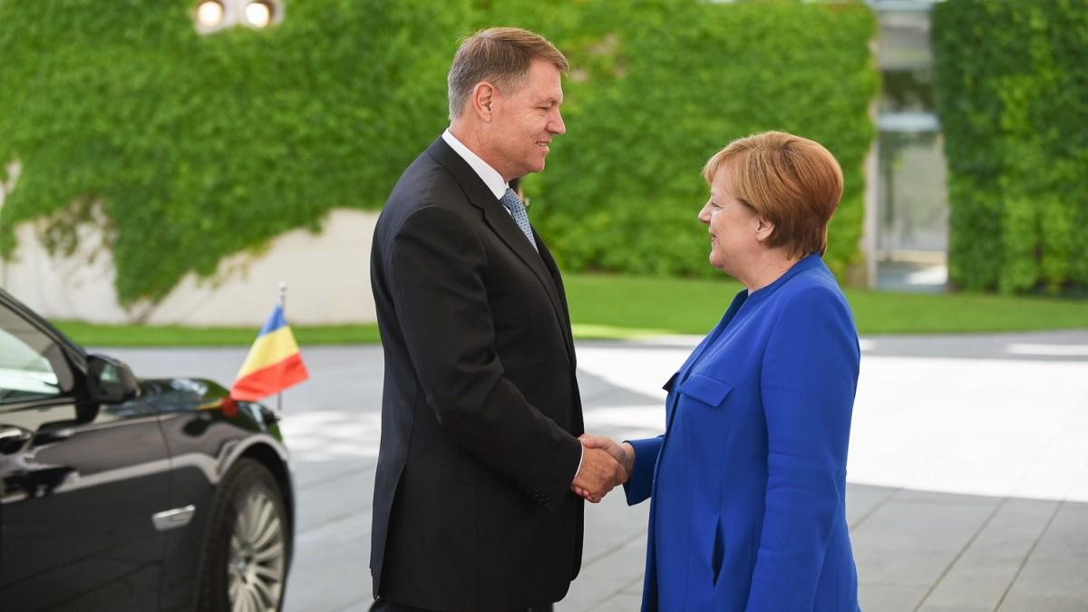 """Candidatura lui Iohannis la președinția CE, pusă în umbră de Merkel. """"Întruchipează unificarea Europei"""""""