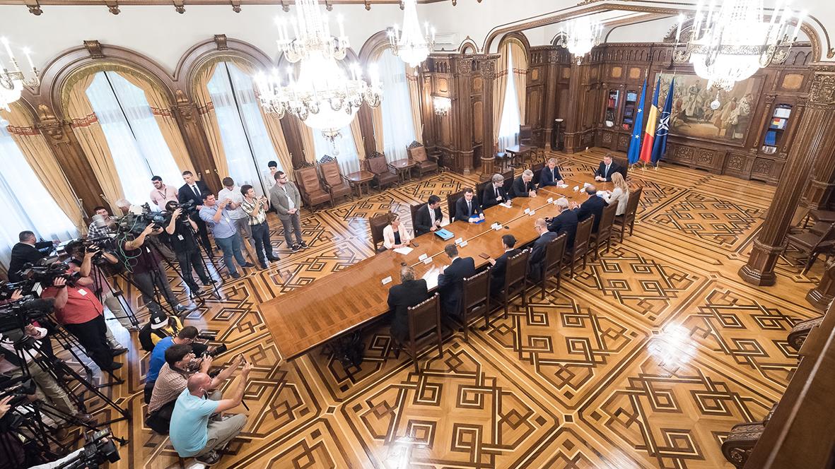 Iohannis: Toţi liderii politici şi-au asumat noul proiect de ţară pentru România