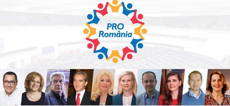 PRO România are cea mai bună listăde candidați pentru alegerile europarlamentare