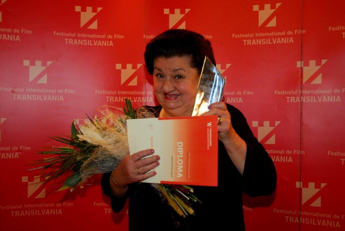 Tamara Buciuceanu, premiată pentru întreaga carieră la TIFF Sibiu