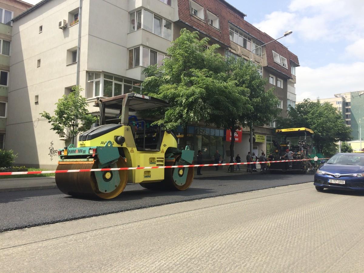 Încep lucrări de reparații în Piața Unirii și pe străzile Cibinului și Râului. Închidere de trafic pe șoseaua Alba Iulia în 19 mai (C.P.)