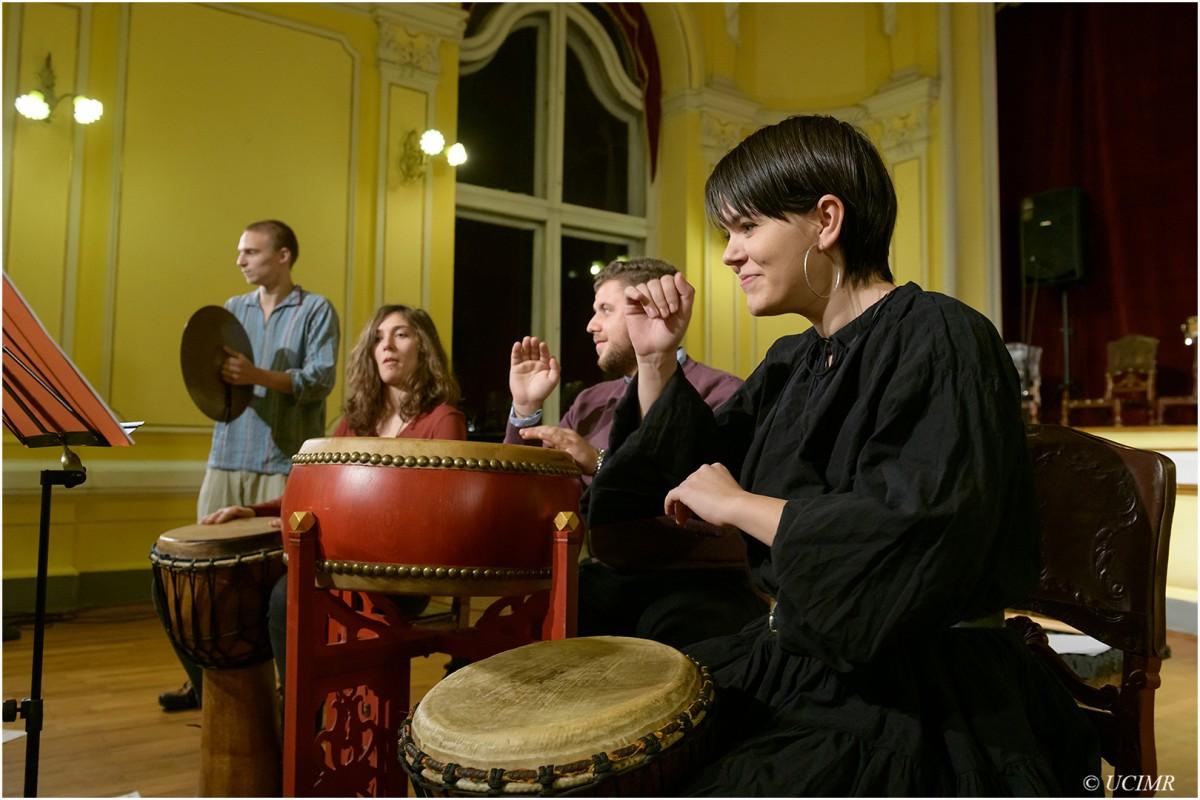 Icon Arts Percussion Group: Concert caritabil la Biblioteca Județeană Astra Sibiu (CP)