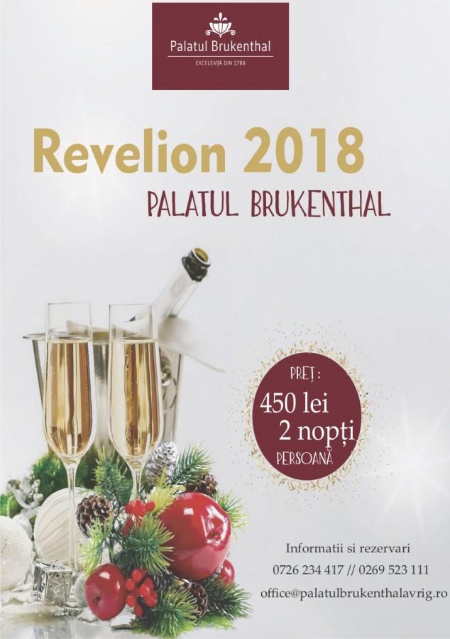 Revelion la Brukenthal. 405 lei pentru două nopți de poveste (P)