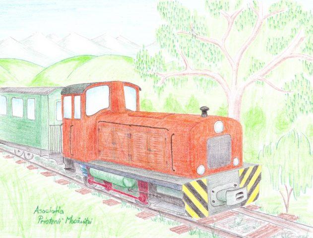 Proiectele maratonului. (16)Locomotivă pentru un tren turistic pe linia mocăniței