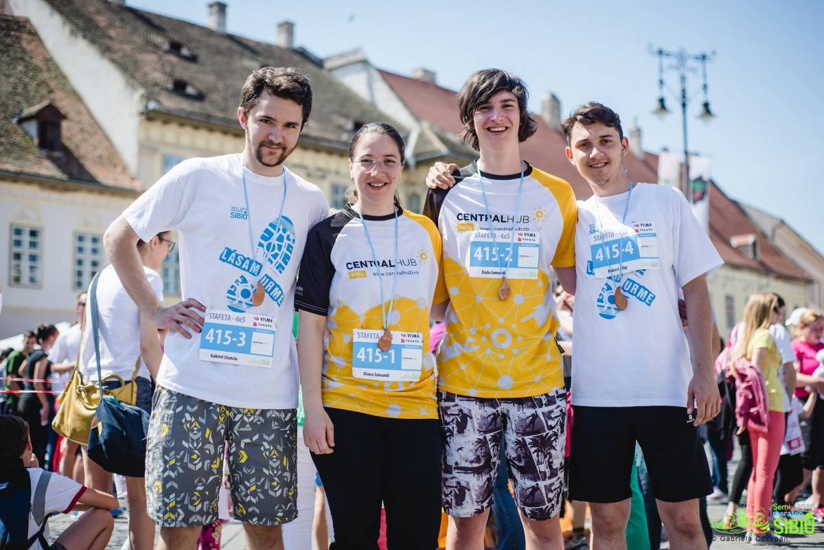 Proiectele maratonului (13). Unicul loc din Sibiu undetinerii cu idei diferite pot lucra și colabora