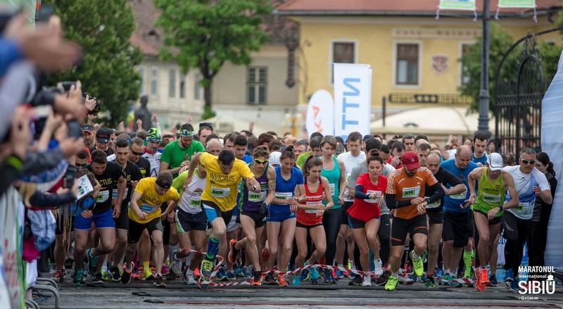 Maratonul Sibiului: 94% din target a fost atins. Dăm Startul în viață a strâns cei mai mulți bani