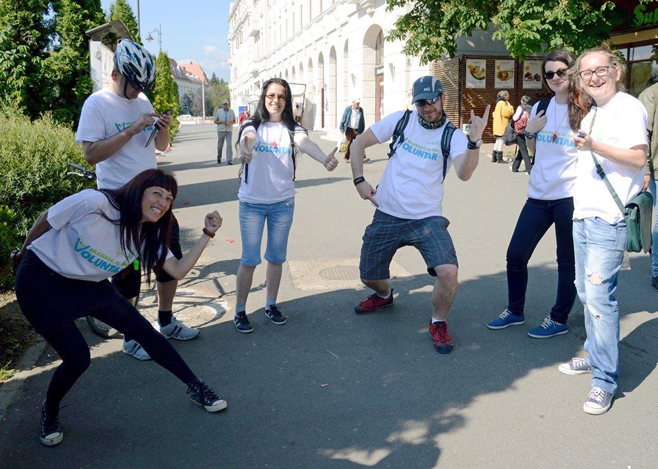 Cros pentru voluntarii Maratonului Sibiului, în Parcul Sub Arini