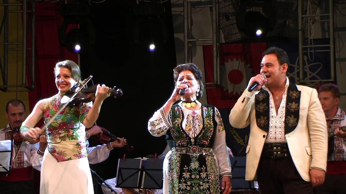Maria Ciobanu sărbătorește 80 de ani în Piața Mare, alături de Leontina Văduva și Ionuț Dolănescu