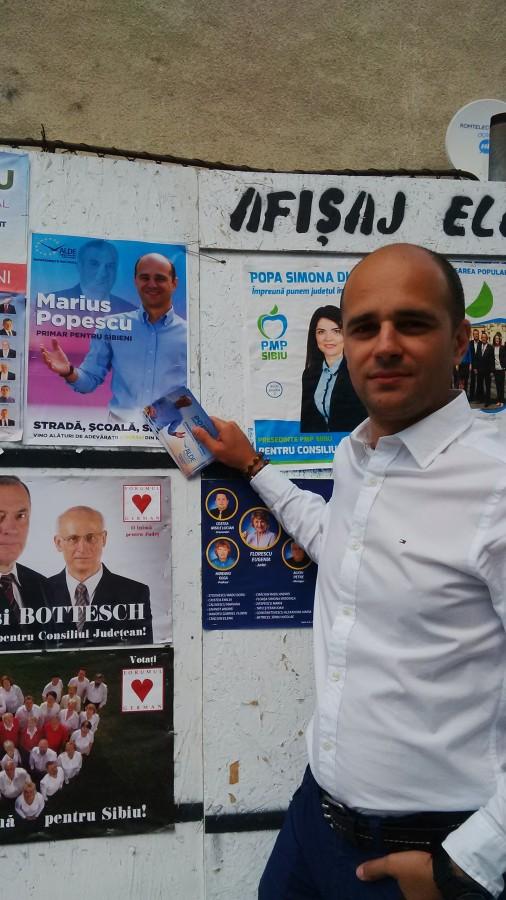 Marius Popescu, candidat ALDE la Primăria Sibiu. Scrisoare către alegători