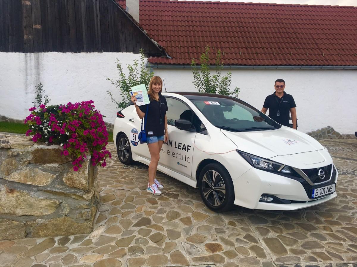 Cine se pune cu BMW? La Sibiu a avut loc primul concurs de mașini electrice din România