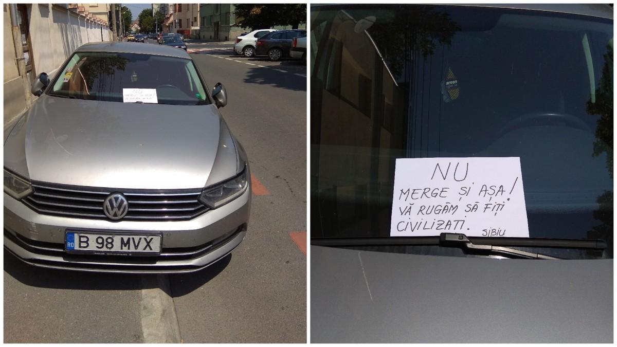 """Sfatul și acțiunea unei bucureștence mutată la Sibiu de o lună: """"luați atitudine împotriva celor necivilizați"""""""