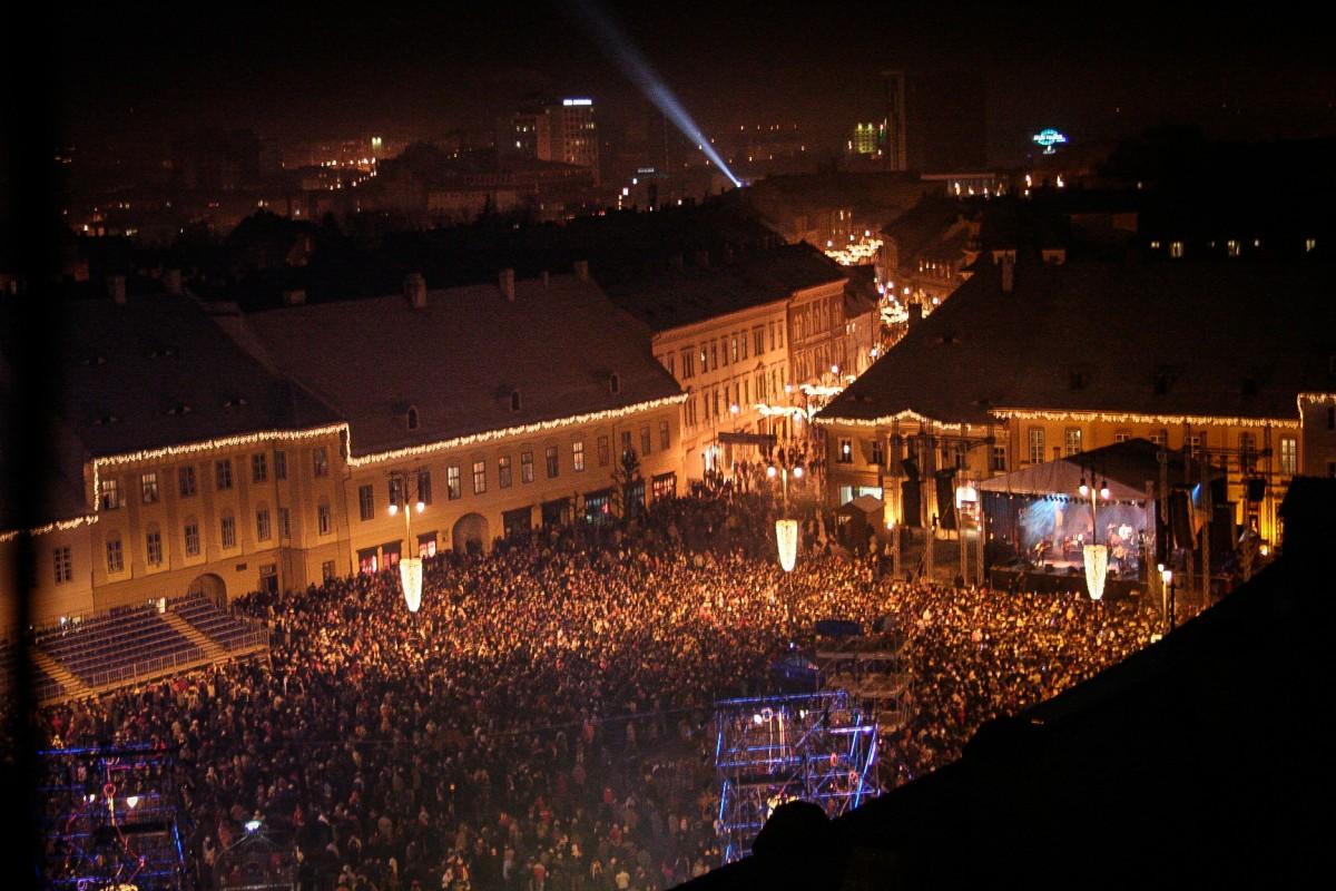 """Sibiul, """"sold-out"""" și de Revelion"""