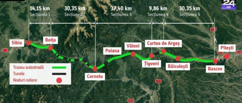 Firmele se înghesuie la oferte pentru cel mai important proiect rutier, autostrada Sibiu-Pitești