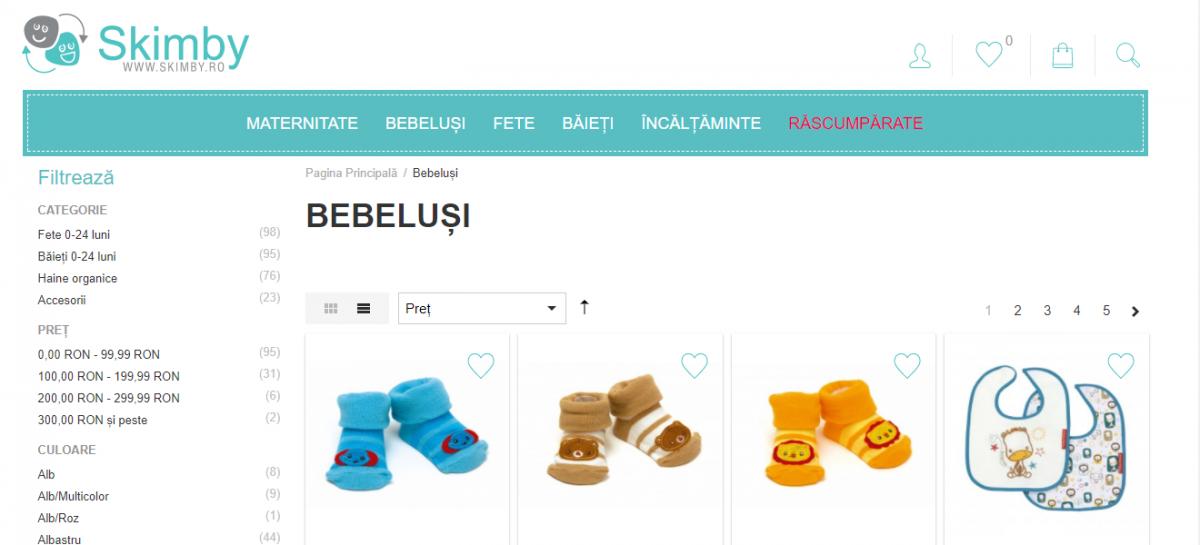 Micile afaceri. Singurul magazin online cu haine de copiiși gravidecare răscumpără hainele purtate