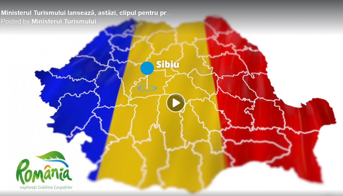 Ministerul Turismului a lansat clipul pentru promovarea turismului cultural și de city break. Cum arată Sibiul?