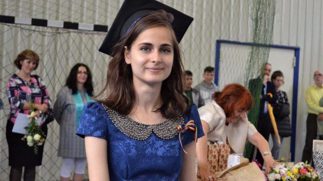 """Cea mai bună elevădin Sibiu la BAC 2019: """"Vreau să devin procuror"""""""