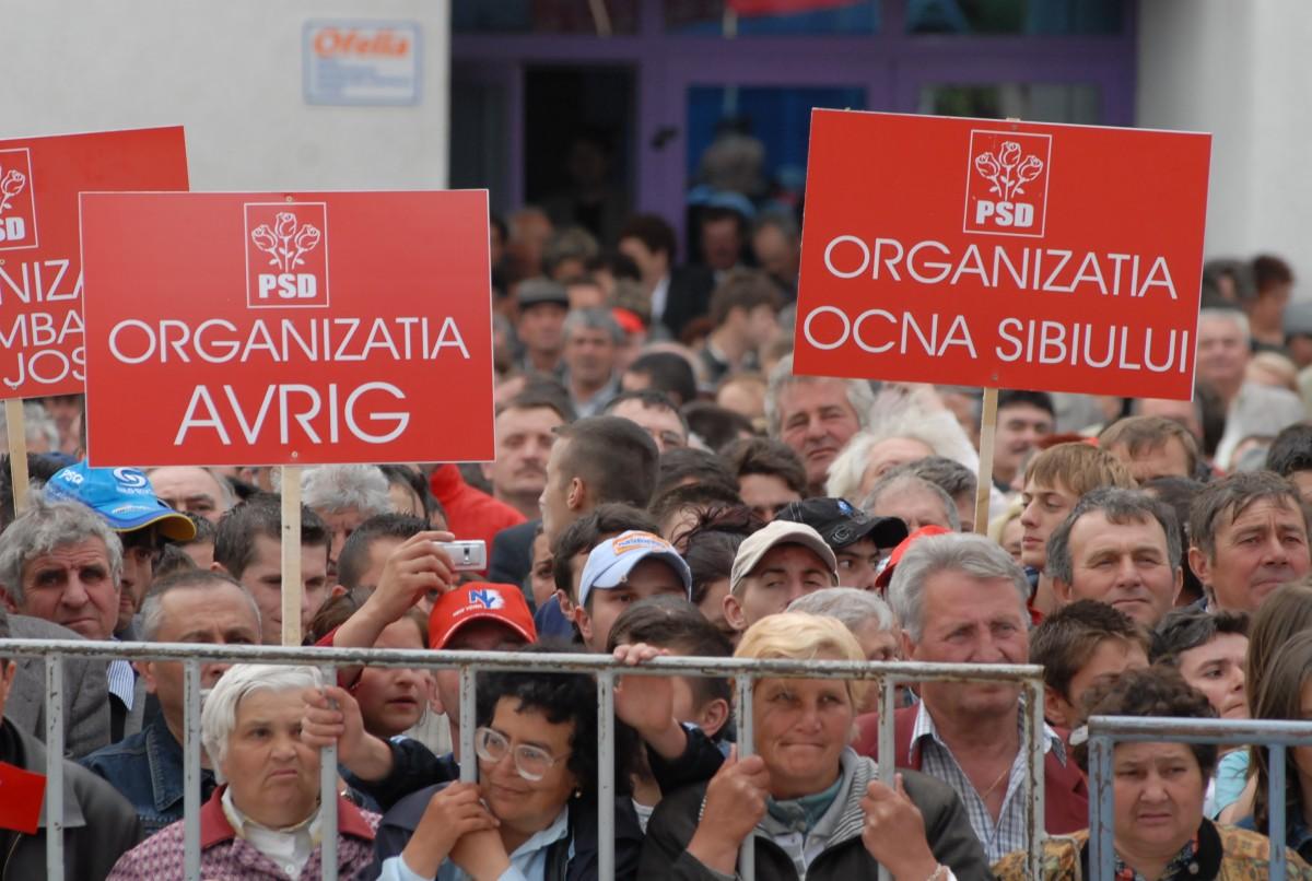 Contribuția PSD Sibiu la mitingul de sâmbătă: 50 de autocare, maxim 2500 de oameni