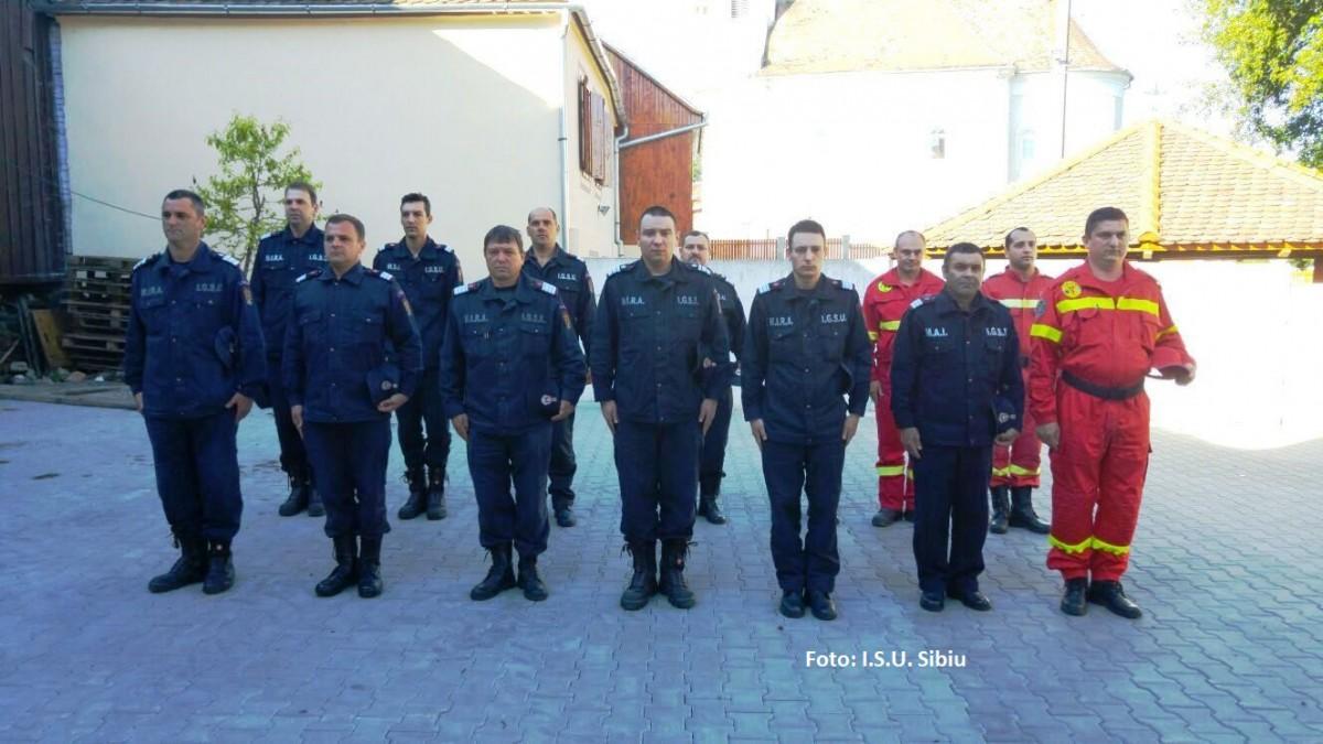 Moment de reculegere pentru pompierul care a pierit în misiune