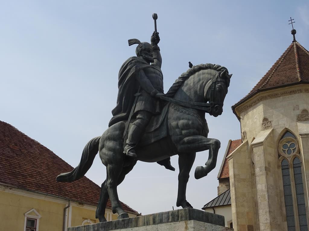 Prima statuie a lui Mihai Viteazul călare, din județul Sibiu, va avea șase metri