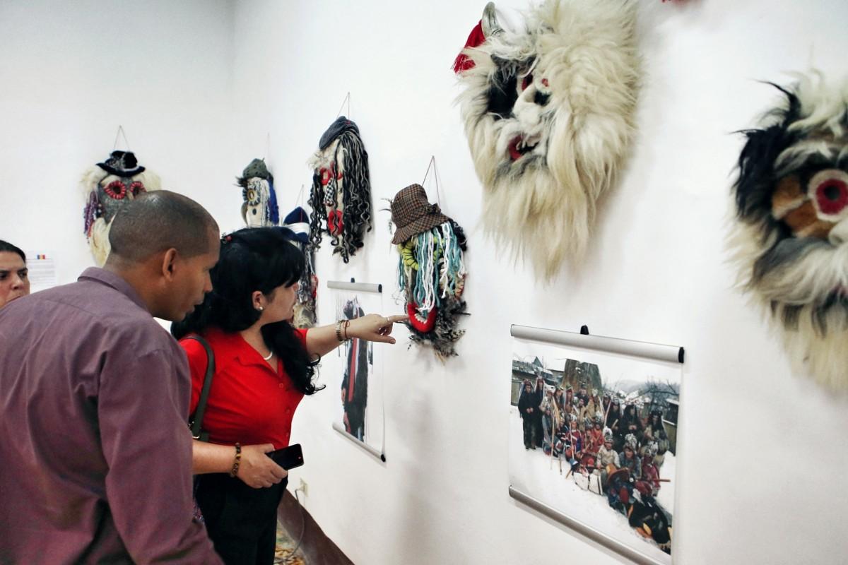 """Muzeul ASTRA la ,,Mascaras del Mundo"""""""