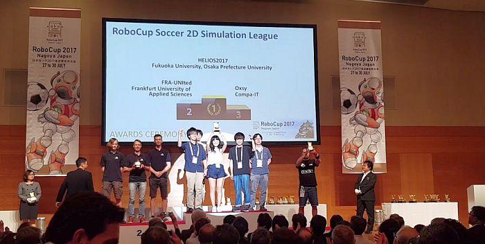 FOTO - Un sibian pe locul 3 la Campionatul Mondial de Robotică