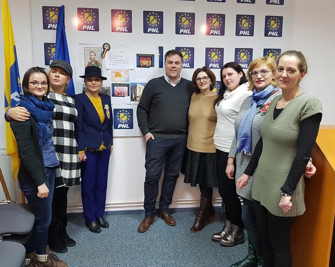 Organizația Femeilor Liberale din Sibiu a sărbătorit Mica Unire