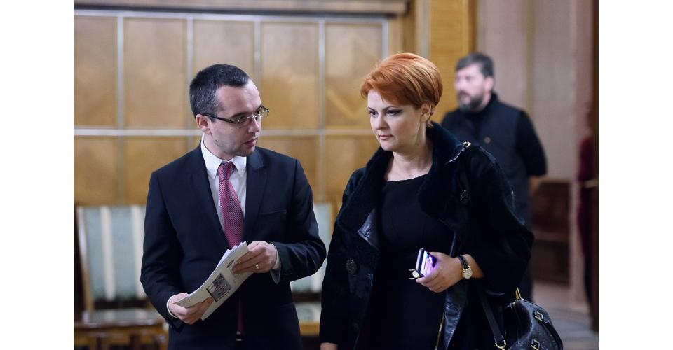 Lia Olguţa Vasilescu şi-aretras nominalizarea pentru funcţia de vicepremier şi ministru al Dezvoltării