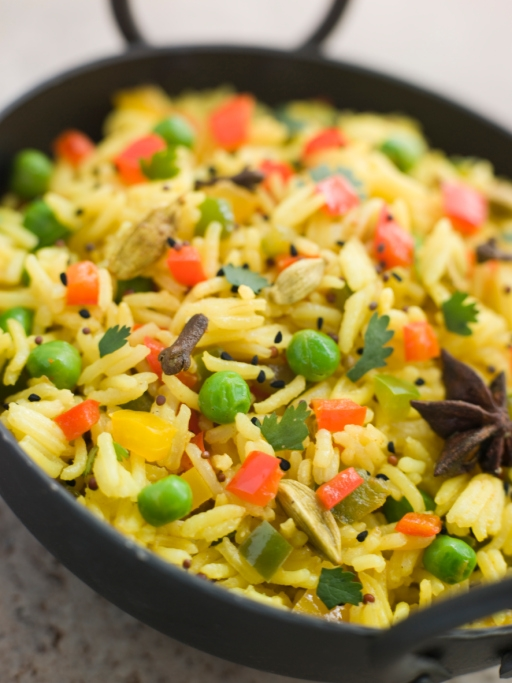 Maria Radu spune că îi place orice mâncare cu orez