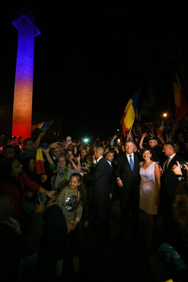 Preşedintele Iohannis, la Roma: Pacea socială în România se reclădeşte