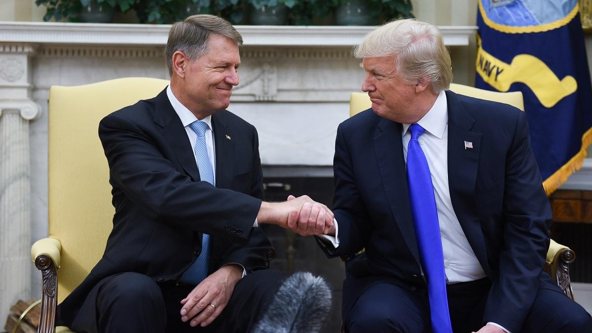 Președintele Iohannis se întâlnește astăzi, la Casa Albă, cu președintele SUA