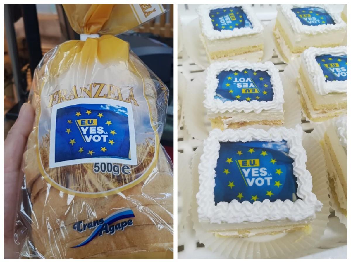 Vot pe pâine: sibienii sunt îndemnați să meargă la vot cu zeci de mii de pâini și prăjituri