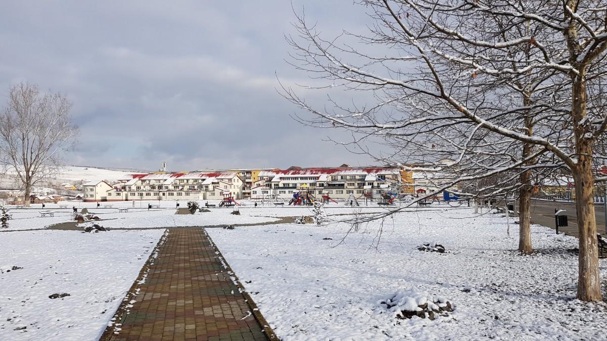 Cisnădie. Primul nou proiect de anul acesta, modernizarea parcului Măgura