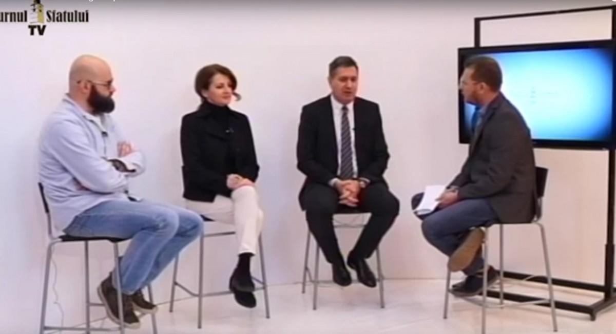 """TSTV Diana Pavelescu și Virgil Popa, despre dezvoltarea Sibiului. """"Directorii Daimler locuiesc aici, deși lucrează în Alba"""""""