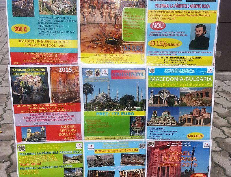 Topul celor mai vândute pelerinaje la Agenția de Turism a Mitropoliei