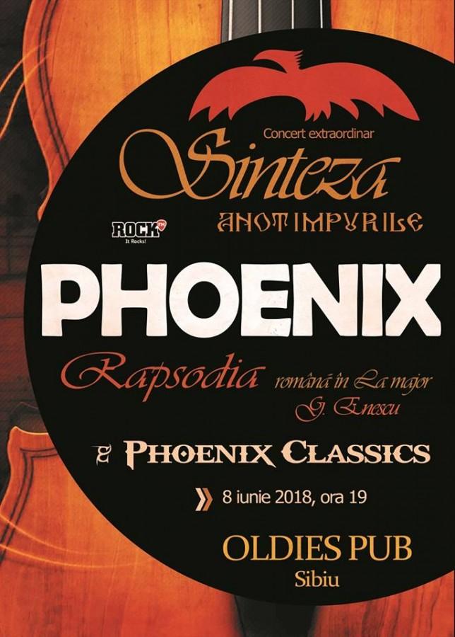 """Phoenix revine la Sibiu cu proiectul """"Sinteza – Rapsodia"""""""