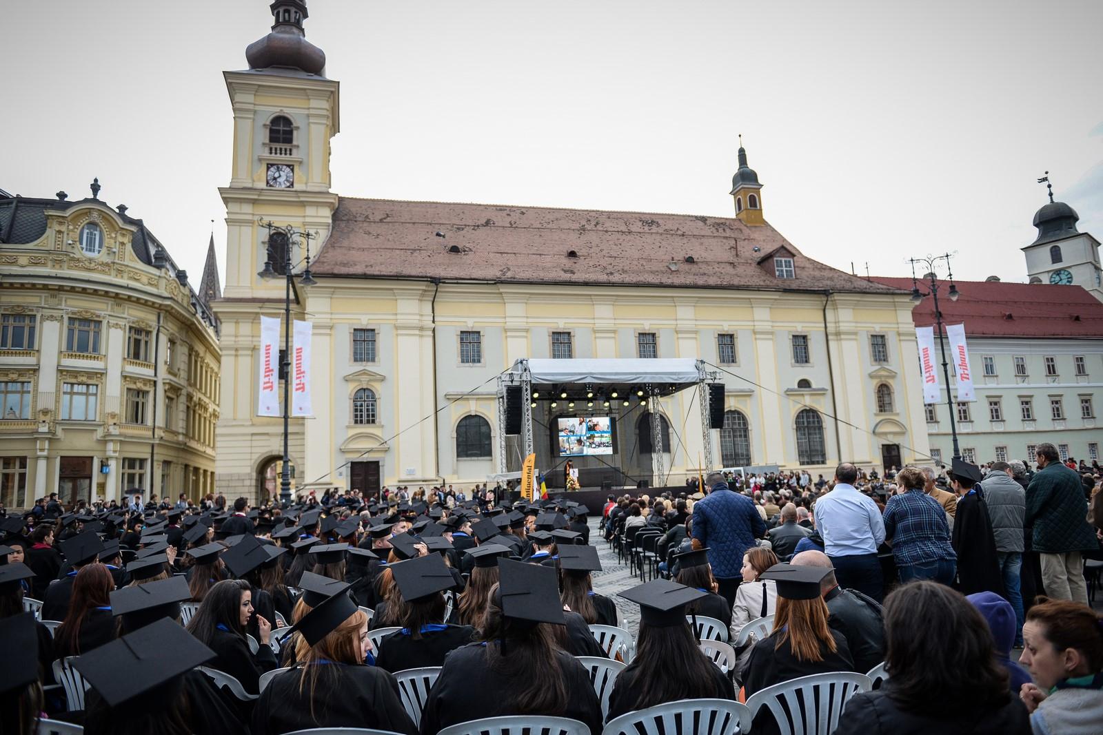 """""""Toamna studențească"""" festivitatea de deschidere a noului an universitar va avea loc în Piața Mare"""