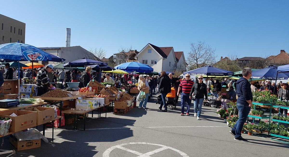 Programul pieței țărănești de la Sala Transilvania, prelungit cu două zile